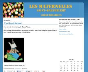 Le Blog des Maternelles