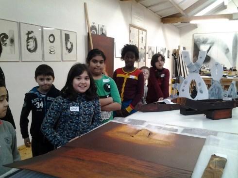 Animation atelier école Saint Barthélemy BR