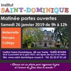 Portes Ouvertes Saint-Dominique 26 Janvier 2019