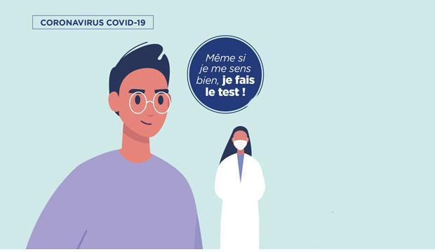 Test Covid-19 à Saint-Étienne