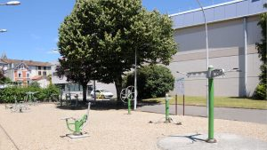 Aire de jeux - Palais des sports