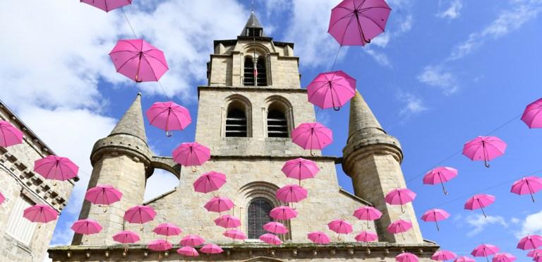 Octobre rose - parapluies