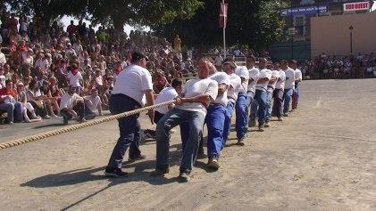 Le tir à la corde