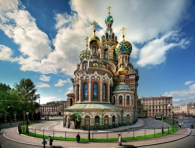 Image result for The Church of the Saviour on Spilled Blood