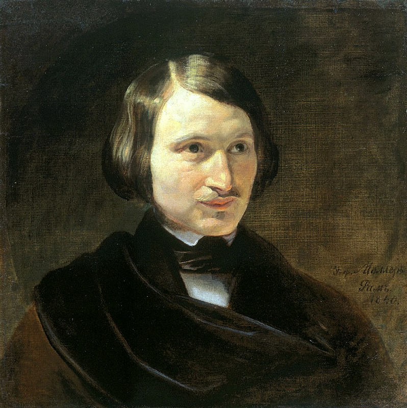 Portrait of Nikolay Gogol