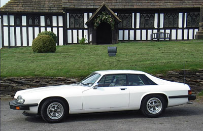 Side of Jaguar XJS in 2008