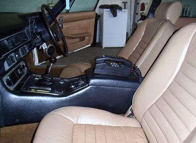 Rear shot of Jaguar XJS in 2008