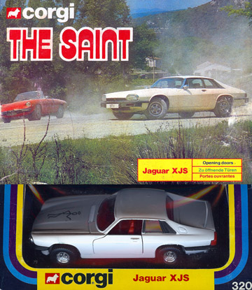 Corgi Return of The Saint's Jaguar XJS