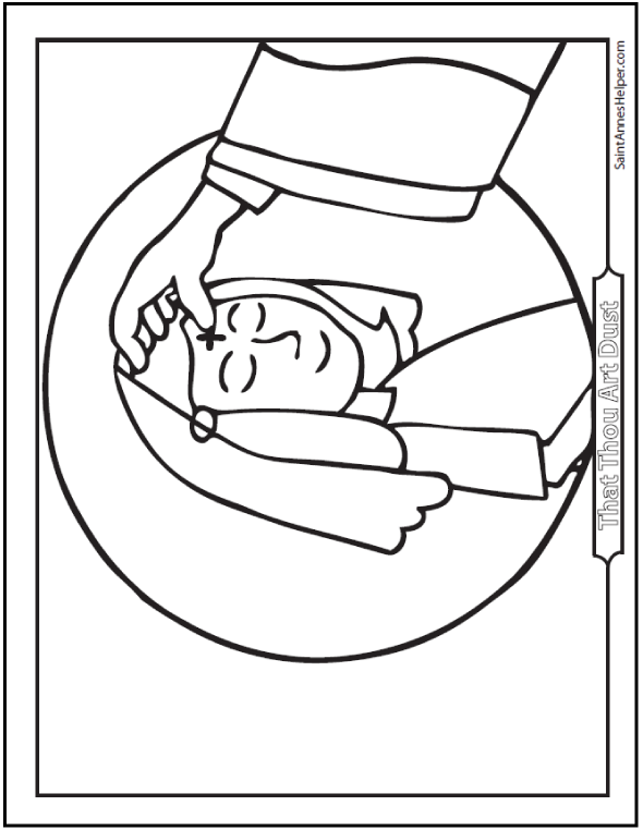 coloring pages for lent | Coloring Page for kids
