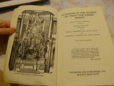 Image result for catechism of the council of trent