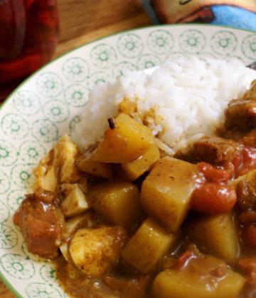 Curry and Rice St Helena Island