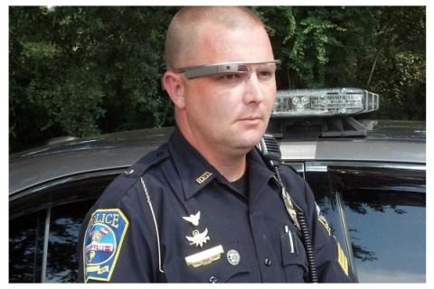 NYPD google glass