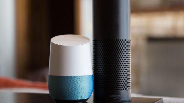 google home and amazon echo