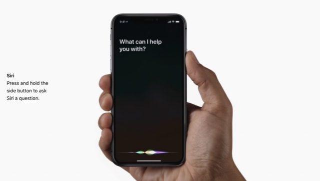 iphone x siri