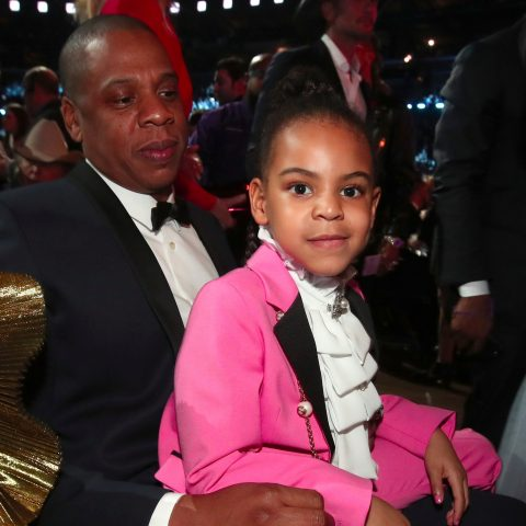 JayZ and Blue Ivy