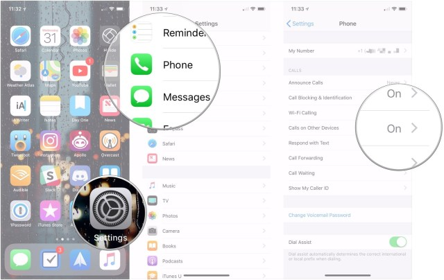 iphone call relay