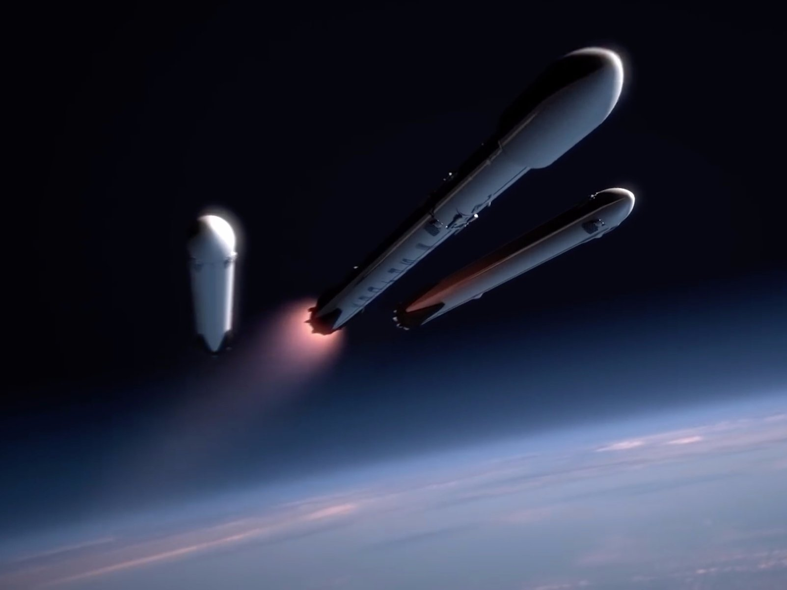 space x heavy falcon