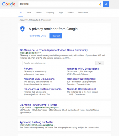 new google design