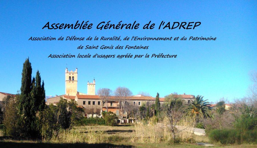Assemblée Générale de l'A.D.R.E.P.