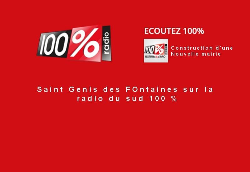 La radio 100 % parle de nous
