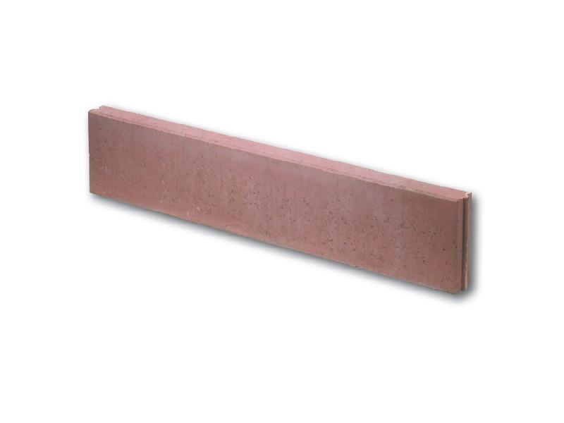 bordure beton droite rouge pas cher