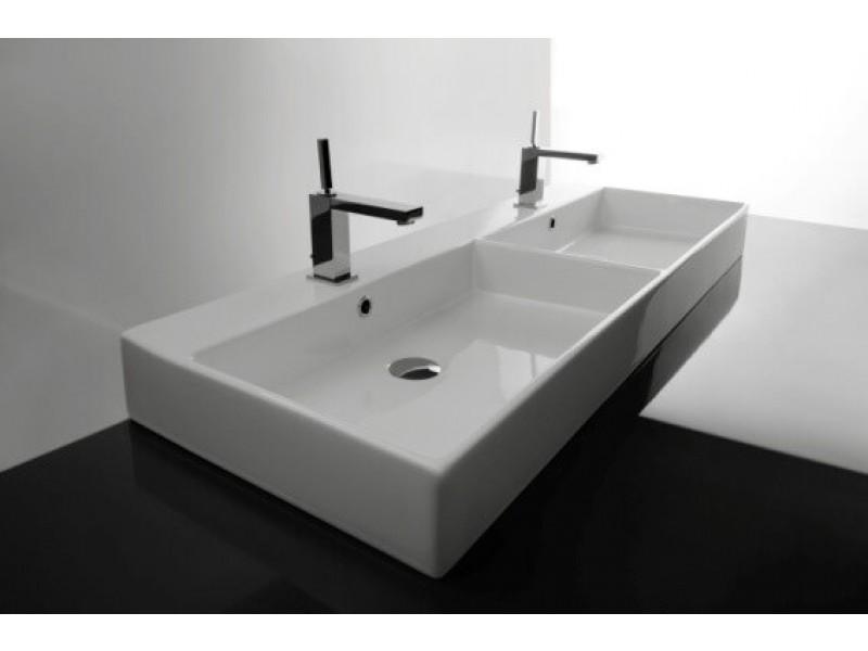 Vasque A Poser Ou A Suspendre Modele Unlimited 120cm