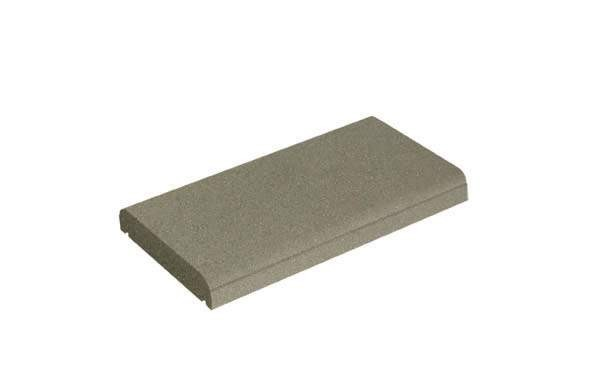 couvre mur plat ton gris h5xl50xl27cm