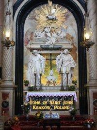 Tomb of Saint John Kanty, Krakow, Poland