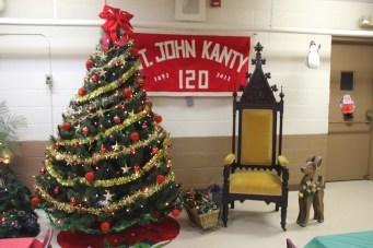 Awaiting Santa on Sunday!