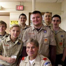 Troop 107...our faithful helpers!