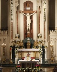 Thanks to Fr Bob Stolinski, our celebrant for the Easter Triduum!