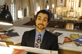 Nick Delbello, our organist for Easter Sunday