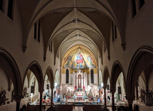 Sanctuary as seen from choir loft