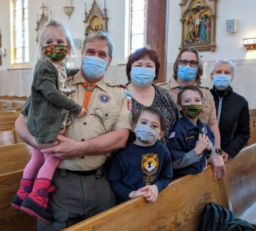 Four generations of scouting