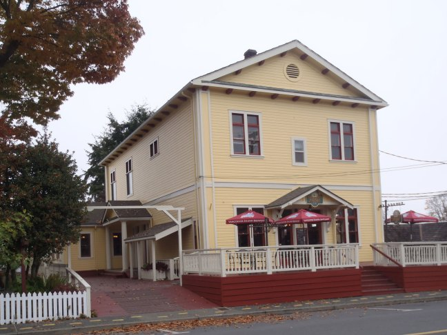 9749 Willow Atreet in downtown Chemainus was originally built in 1927 by Chemainus Lodge No. 114 as the Chemainus Masonic Temple (photo by St. John's Lodge No. 21 Historian)