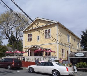 9749 Willow Street in downtown Chemainus was originally built in 1927 by Chemainus Lodge No. 114 as the Chemainus Masonic Temple (photo by St. John's Lodge No. 21 Historian)
