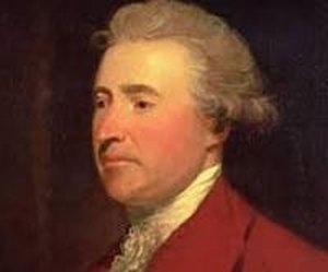 Edmund Burke (1729-1797) Anglo-Irish political theorist writer and Freemason.