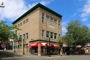 Ashlar Masonic Temple, 101 Commercial Street in downtown Nanaimo (Photo: St. John's Lodge No. 21 Historian)