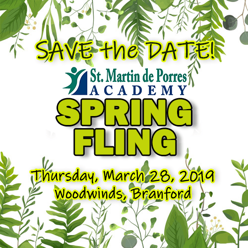 Save the Date! SMPA's Spring Fling Thursday, March 28, 2019
