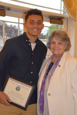 Mohamed, winner of the 2019 Ben Surowiecki First Tee Scholarship winner