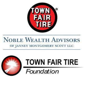 Presenting Sponsors Town Fair Tire, Town Fair Tire Foundation and Noble Wealth Management