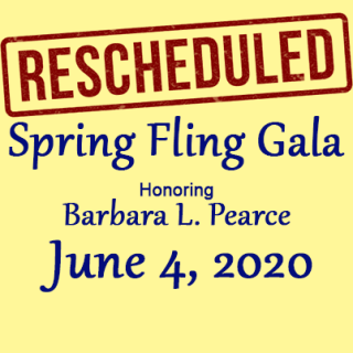 Spring Fling changed to June 4, 2020
