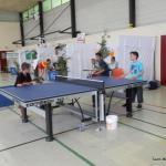 Les enfants au ping-pong