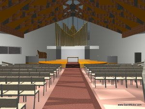 Proposed Buildings - Inside Worship Center