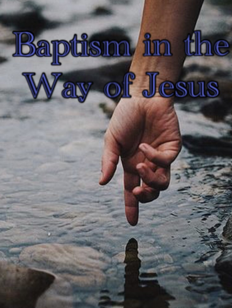 baptism in the way of jesus
