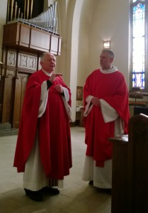 Pastors Don Sutton and Kevin Maly