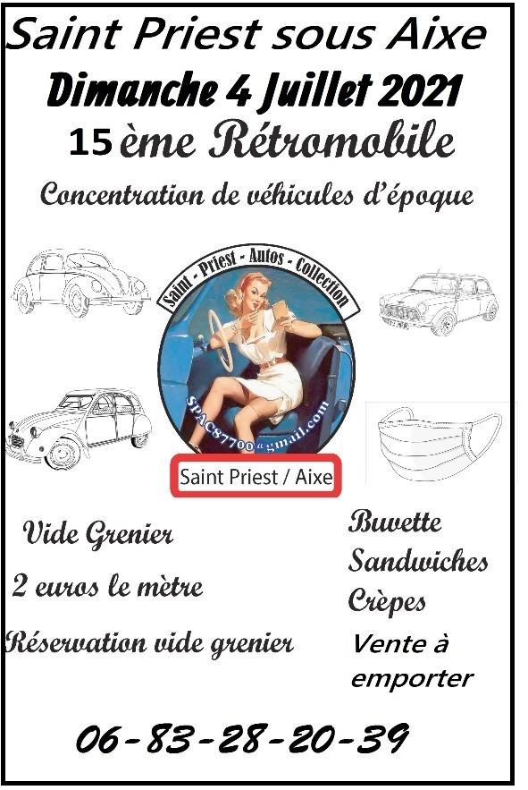Affiche Rétromobile 2021