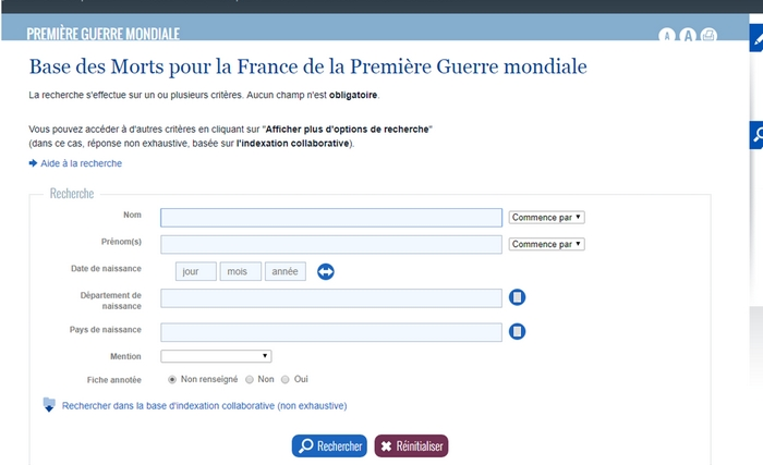 """Projet """"Mémoire 14-18"""" en Histoire"""