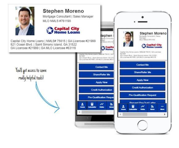 Stephen's Mobile Mortgage App