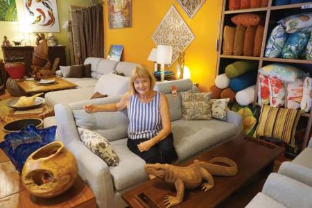 Accentuate the positive in your home   Saipan News  Headlines     Monika Nugent  owner of Monika s Furniture  has been in business in the  CNMI for 30 years   Bea Cabrera